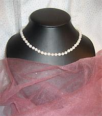 Эксклюзивные украшения из бисера и полудрагоценных камней :: Колье :: 785.